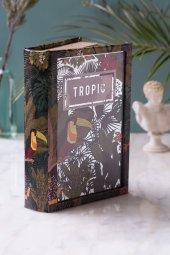 Tropik Kitap Şeklinde Aynalı Kutu