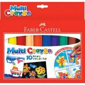 Faber Castell Multıcryon 10 Renk Pastel Boya