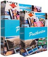 Leuchtturm Postkarten Posta Kartı Koleksiyonları İçin Albüm,