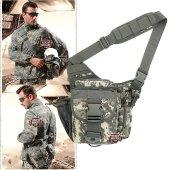 Military Tactical Messenger Bag Acu