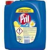 Pril Sıvı Bulaşık Deterjanı 3 Lü Güç Limon 4 Kg...