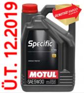 Motul Specific 0720 5w 30 5 Litre Motor Yağı
