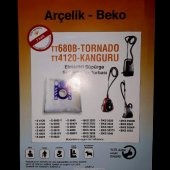 Beko Tornado Kanguru TT680B Elektrikli Süpürge Sentetik 5 Adet To-2