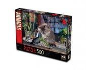 Ks Naughty Cat Puzzle 500 Parça