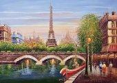 Ks Seine River Paris Puzzle 500 Parça