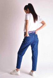 Yüksek Bel Mavi Mom Jeans