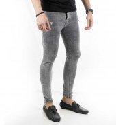 DeepSEA Önü ve Paçası Yırtık Skinny Kesim Erkek Kot Pantolon 1800-4