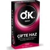 Okey Çifte Haz Prezervatif 10lu