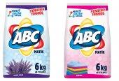 Abc Matik Toz Çamaşır Deterjan Beyaz Renkli Kampanya Paket 6kgx2