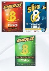 Süper Enerji 8. Sınıf Türkçe Soru Bankası Ve Deneme Seti Nitelik Yayınları Ve Palme Kitabevi