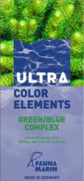 Fauna Marin Color Elements Green Blue Complex...