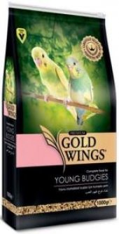 Gold Wings Premium Yavru Muhabbet Kuşu Yemi 1 Kg