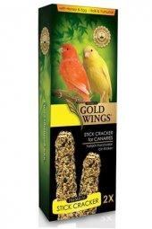 Gold Wings Premium Kanaryalar İçin Balli Kraker...