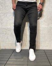 Yeni Sezon Erkek Dar Kesim Slimfit Likralı Rahat Hareketli Günlük Kot Pantolon Grj Füme