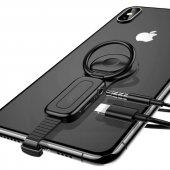 Iphone 7 8 X Xr Xsmax Şarj Aux Çevirici Stant Tutucu