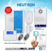 Neutron Alarm Seti Ve Kablosuz Dış Siren Paketi