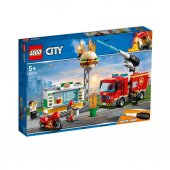 Lsc60214 Hamburgerci Yangın Söndürme Operasyonu City +5 Yaş Lego