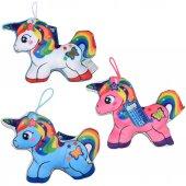 78397pl Baskılı Renkli Atlar 18cm