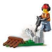 LSC60219 İnşaat Yükleyicisi/City +5 yaş LEGO 88 pcs-5