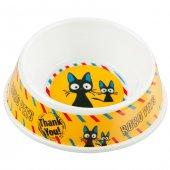 Bobo 103789 Eğimli Melamin Kedi Mama Kabı 3052a