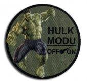 Cordura Kumaş Baskı Hulk Moral Peçi