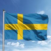 Isveç Bayrağı 70x105 Cm