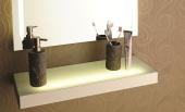 ışıklı Banyo Rafı 90 Cm