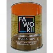 Fawori Wood Stain Vernikli Ahşap Koruyucu *0,75 Litre* Açık Meşe Ücretsiz Kargo