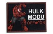 Cordura Kumaş Baskı Red Hulk Moral Peçi