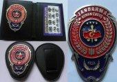Jandarma Uzman Çavuş Cüzdanı+kemer Rozetı,askerı A...
