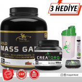 Torq Nutrition Gold Mass Gainer 3000 Gr (Çikolata Aromalı) + Creatorq Creatine 300 Gr