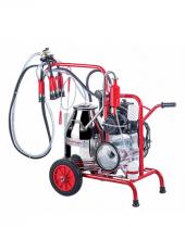 Kurtsan Yağlı Pompalı Tekli Süt Sağım Makinesi 30 Litre