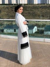 Beyaz Abaya-2