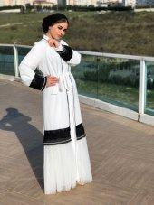 Beyaz Abaya-3