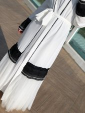 Beyaz Abaya-4