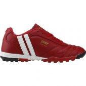 Jump 13258 Kırmızı Halısaha Krampon Erkek Çocuk Futbol Ayakkabı