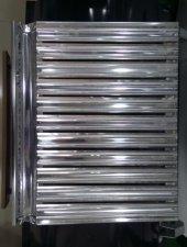 Mangal Üst Izgarası Paslanmaz Krom 28x50 Ebatlarında Oluklu