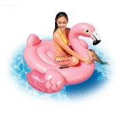 İntex Flamingo Binici - Tutmaçlı Ada 142x137x97Cm