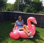 İntex Flamingo Binici - Tutmaçlı Ada 142x137x97Cm-4