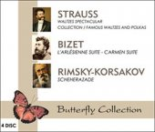 Cd Strauss Bizet Rimsky Korsakov (4 Cd)