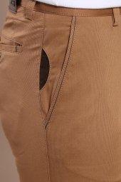 Yan Cepli Taba Pamuk Pantolon | Wessi-2