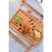 Bambum Focci 9 Parça Sushi Seti