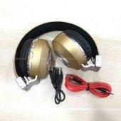 4,2 Kablosuz Bluetooth Kulaklık Sd Kart Aux Giriş ...