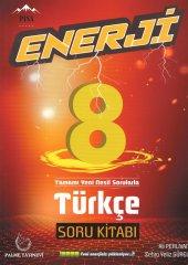 Enerji 8. Sınıf Türkçe Yeni Nesil Soru Kitabı Palme Kitabevi