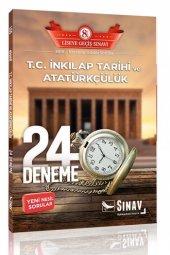 8. Sınıf Lgs T.c İnkılap Tarihi Ve Atatürkçülük 24 Deneme Sınav