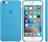 Apple Orijinal İphone 6 6s Açık Mavi Silikon Kılıf