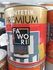 Fawori Premium Sentetik Boya 0,75 Lt Boncuk Mavi Ücretsiz Kargo