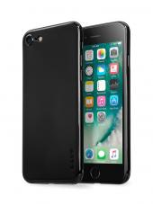 Laut Slim Skin İphone 7 Jet Black Kılıf