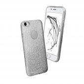 Sbs Sparky Glitter İphone 7 Gümüş Kılıf