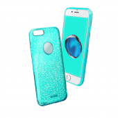 Sbs Sparky Glitter İphone 7 Plus Mavi Kılıf